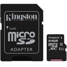 Cartão De Memória Select Microsd 64gb Classe 10 - Kingston