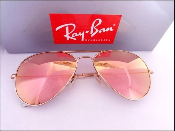 Óculos Ray Ban Rb3025 Aviador Masculino Feminino Envio 24h
