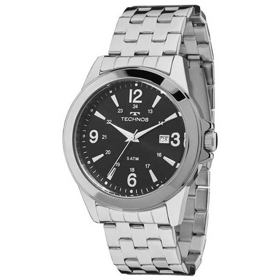 Relógio Technos Masculino Prata 2115lab/1p