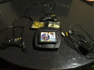 Sega 16 Bits Con 2 Josticks Y 3 Juegos