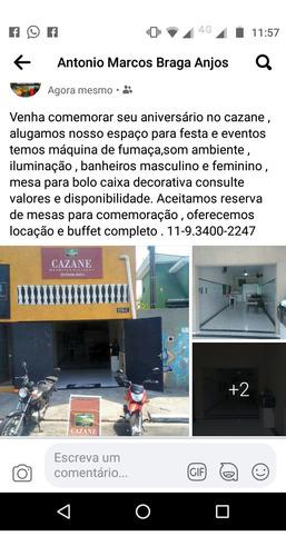 Imagem 1 de 1 de Marmitex E Locação De Espaço Para Festa