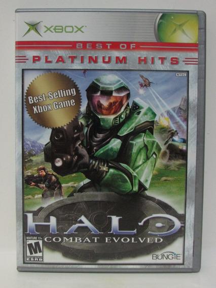 Halo Combat Evolved Xbox Clássico Completo Original American