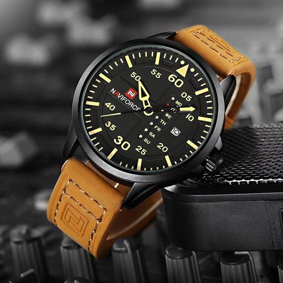 Relógio Naviforce Original Masculino Funcional Com Caixa