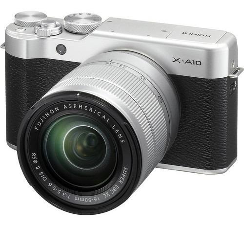 Imagen 1 de 1 de Cámara Fujifilm X-a10 Plata Xc 16-50mm F/3.5-5.6 Ois Ii