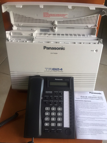 Central Telefónica Totalmente Nueva Panasonic Modelo Ta824