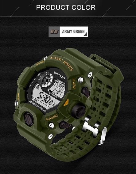 Relógio Digital Barato Com Garantia Original Caixa + Brinde