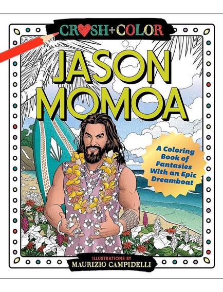 Jason Momoa Libro De Colorear