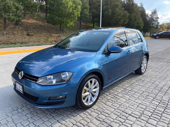 Volkswagen Golf 2015 1.4t Highline Automatico Impecable