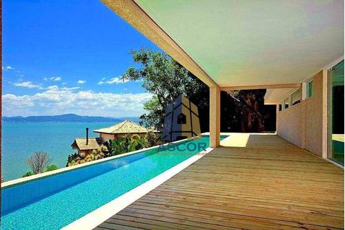 Mansão No San Barth, Cacupé, Florianópolis Com 6 Dorm, 1000 M² Por R$ 11.900.000 - Cacupé - Florianópolis/sc - Ca0029