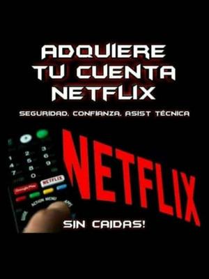 Servicio Legal De Netflix, Por Pantallas O Cuentas Complet
