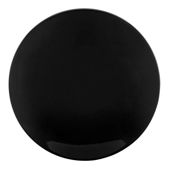 Conjunto De 6 Pratos Rasos 28cm Coup Black