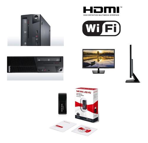Imagen 1 de 10 de Lenovo G3220 3.0ghz 8gb 500gb Hdd Wifi Monitor 20 Garantia 6