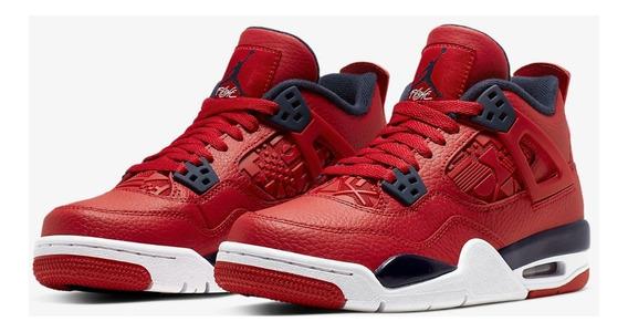 Air Jordan 4 Retro Gs Unisex Urbano Adolecente Originales