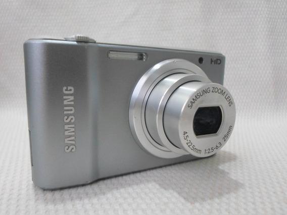 Câmera Máquina Digital Samsung St 64 St64 Prata Usada
