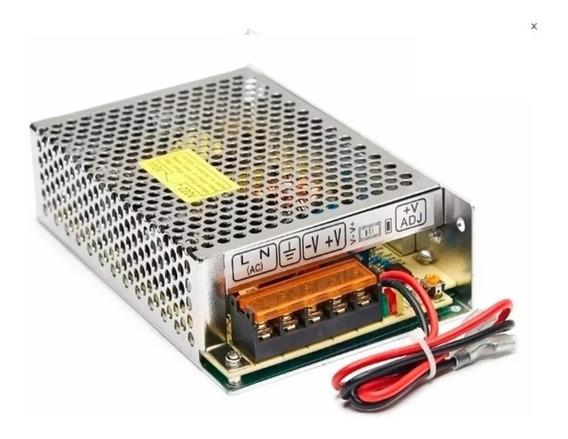 Fuente Ups 12v 8a Switching Metalica Carga Bateria Cctv