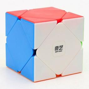 Cubo Mágico Profissional Skewb Qicheng Qiyi Stickerless