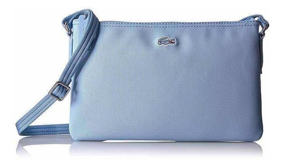 Bolso Chico Lacoste Cruzado Powder Blue Nf1887po Original