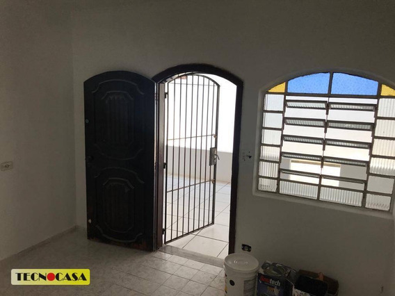 Casa Com 01 Dormitório Para Venda Com 60 M² No Bairro Vila Mirim Em Praia Grande/sp. - Ca4522