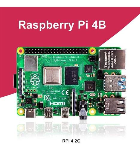 Nueva Raspberry Pi Modelo B 4gb Ram Bcm2711 Quad Core