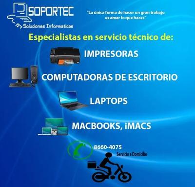 Reparacion Impresoras Laptops Pc, Reparacion Mac A Domicilio