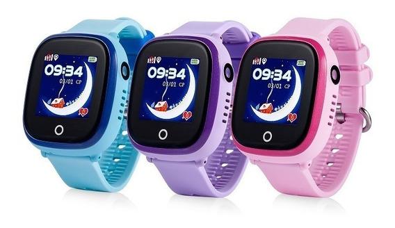 Con Sim Gratis! Reloj Contra Agua Sumergible Camara Gps Celular Integrado Wifi Smart Watch Para Niño Localizador Gw400x