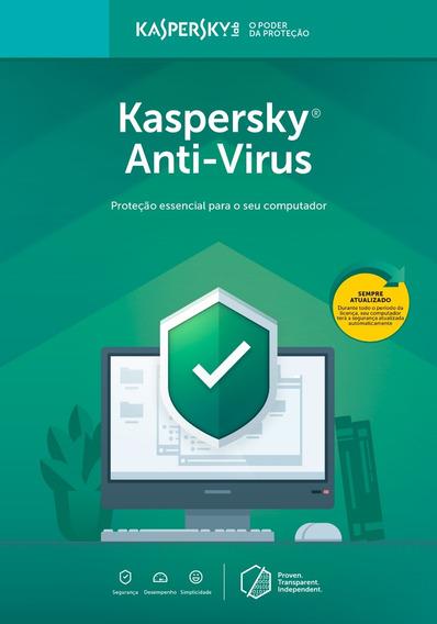 Anti Vírus Kaspersky 3 Usuários 1 Ano Pc Br Download