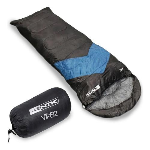 Imagem 1 de 4 de Saco Dormir Colchonete Camping Viper C/ Capuz Nautika