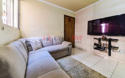 Imagem 1 de 20 de Lindo Apartamento À Venda No Bairro Alves Dias Em São Bernardo - 6442