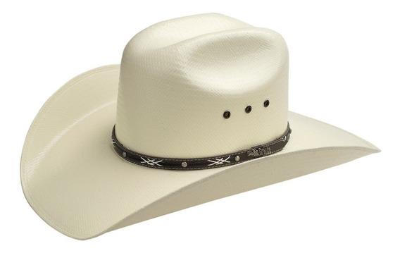 Sombrero Vaquero Para Hombre Mod. Iowa Con Toquilla De Piel Y Copa Alta Calidad 20x De Rio Grande