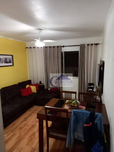 Apartamento Com 2 Dormitórios À Venda, 56 M² Por R$ 210.000,00 - Utinga - Santo André/sp - Ap3739