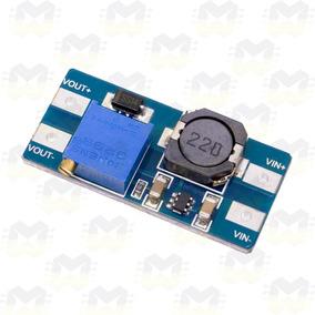 Regulador Elevador De Tensão Ajustável Step Up Dc-dc Mt3608
