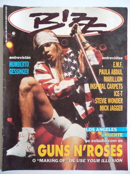 Revista Bizz Ano 7 - N 08 - 1991