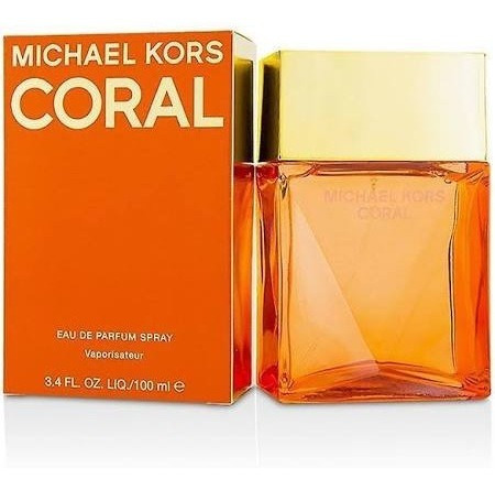 Perfume Feminino Michael Kors Coral 100ml Edp Original Spray