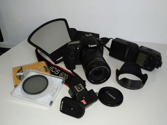 Câmera Dslr Canon Eos 60d