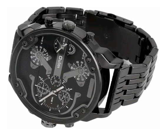 Relógio Masculino Oulm 3548 Bonito E Grande
