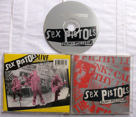 Cd / Sex Pistols - Filthy Lucre Live / 1º Ed. Uk 1996_ Excel