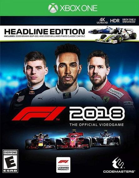 Formula 1 2018 Headline Edition -xbox One