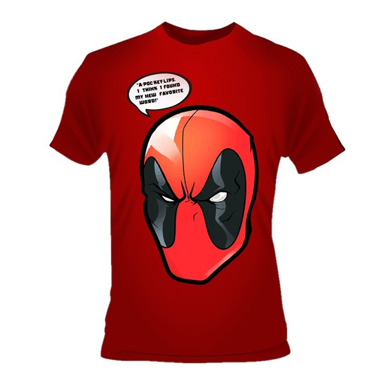 Playera Deadpool A-poc-key-lips Marvel Cable X Men Domino