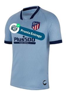 Camisa Atlético De Madri 19/20 Uni. 3 - Pronta Entrega