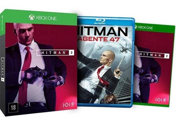 Hitman 2 Edição Limitada + Blu-ray Xbox One Mídia Fìsica