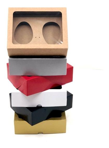 20 Caixas Ovo De Colher- Forma 250g, 350g, Duplo 100g Páscoa