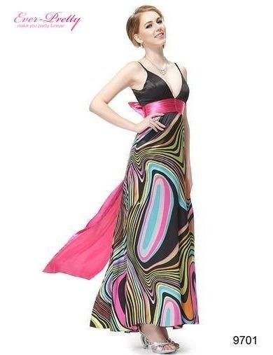 Vestidos De Fiesta Ever Pretty Multicolor Talle L-xl (mod.5)