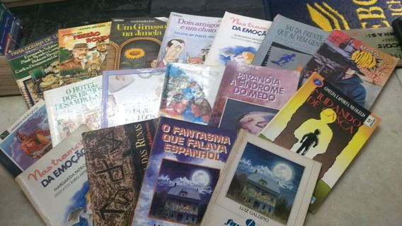 Kit Livros Infanto Juvenil /paradidáticos/leitura 200 Livros