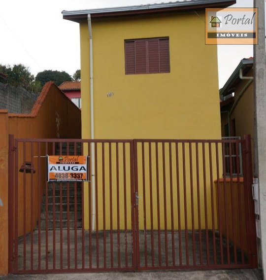 Casa Com 3 Dormitórios Para Alugar Por R$ 1.100,00/mês - Jardim Santa Lúcia - Campo Limpo Paulista/sp - Ca0079