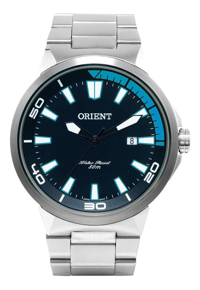 Relógio Orient Mbss1196 Pasx Sport Masculino Prata- Refinado