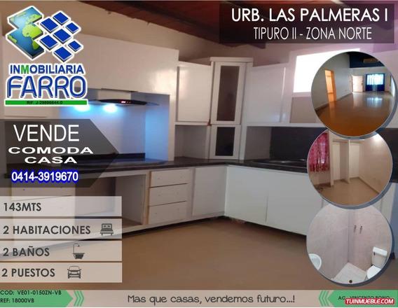 Venta De Casa En Tipuro Ve01-0150zn-vb
