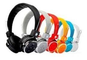 Fone De Ouvido Headphone S Fio Micro Sd Usb Fm Bluetooth B05