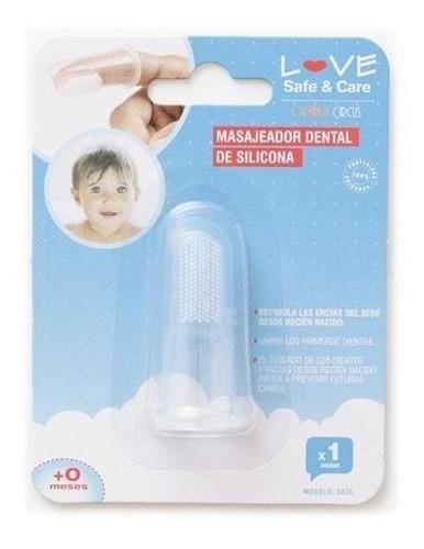 Imagen 1 de 9 de Masajeador Dental Encias Love 8826 Higiene Bebe Cuidados