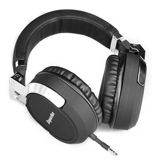 Fone Ouvido Microfone Profissional Superlux Hd685 Super Bass