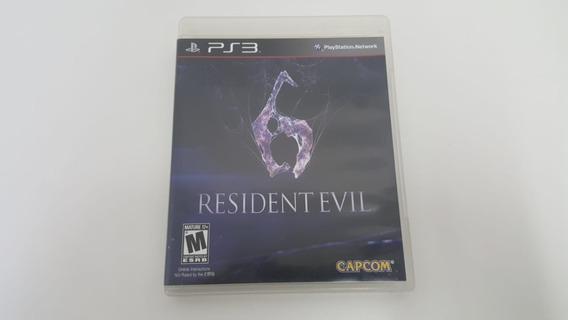 Jogo Resident Evil 6 - Ps3 - Original